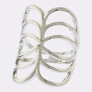 Sliver or Gold Caterpillar Knuckle Rings